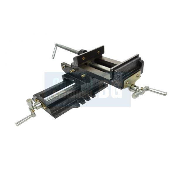 Менгеме машинно кръстато / двуосово GEKO G01028 / 125 мм /
