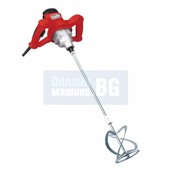 Бъркалка за строителни материали HECHT 1139  / 1200 W ,0-700 об./мин /