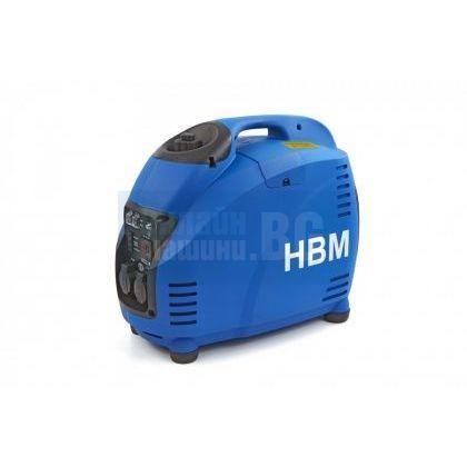 Инверторен монофазен  бензинов генератор HBM 9469 /1500 W, 230 V, 50Hz/