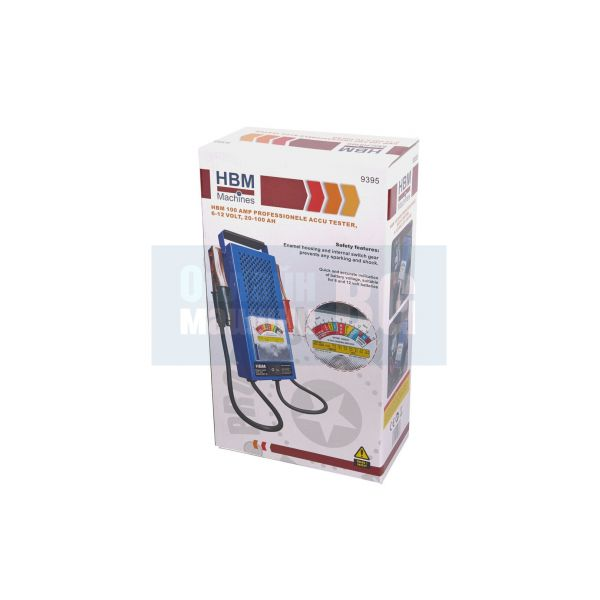 Тестер за акумулатори HBM 100 AMP /6-12 V, 20-100 Ah/