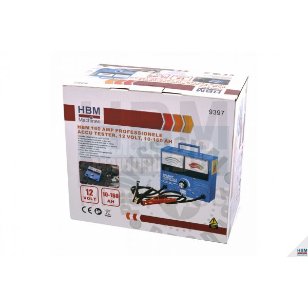 Тестер за акумулатори HBM 9397 /12 V, 10-160 Ah/