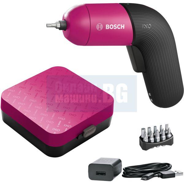 Акумулаторна отвертка Bosch IXO 6 Colour Edition в кутия / Li-Ion, 3.6 V, 1.5 Ah /