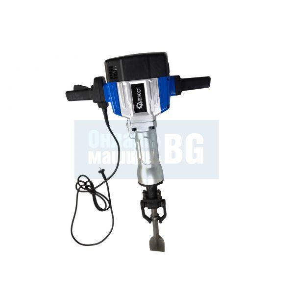 Електрически къртач Geko G80703 / 2200W, 63J, 42кг. /
