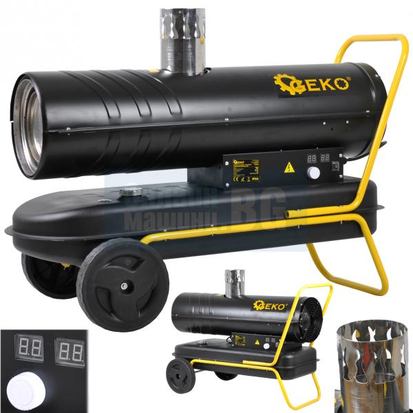 Дизелов индиректен отоплител Geko G80426 / 40 Kw/ с термостат