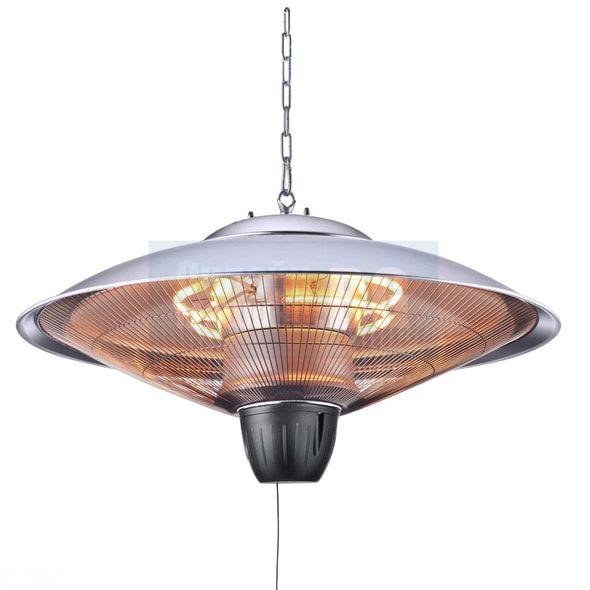 Окачен инфрачервен отоплител HECHT 3524 / 2000 W , 15 m2 /