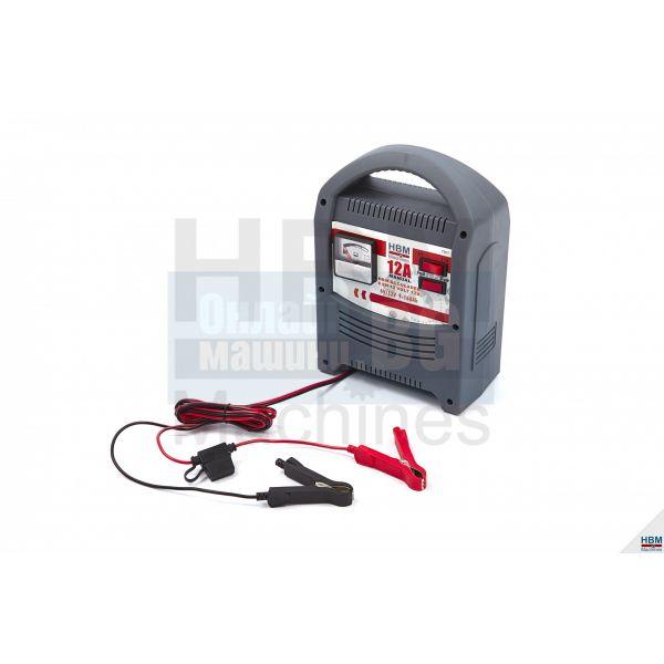 Зарядно устройство за акумулатори HBM 7301 /6 V, 12V, 12A, 160Ah/