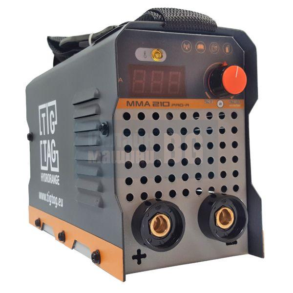 Инверторен електрожен TIG TAG ММА 210ProR /  20÷120А, електроди до 3.25 мм /