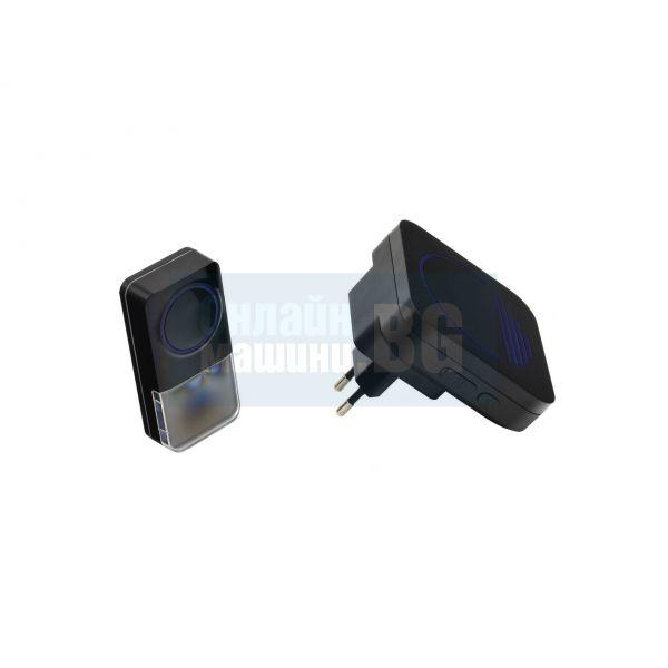Безжичен звънец за врата Geko GH02-012 / 52 мелодии 305 м /