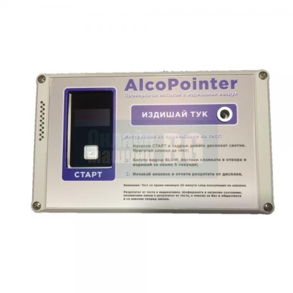 Тестер за алкохол / дрегер AlcoPointer / 0,0~4,00 g/l (‰) /