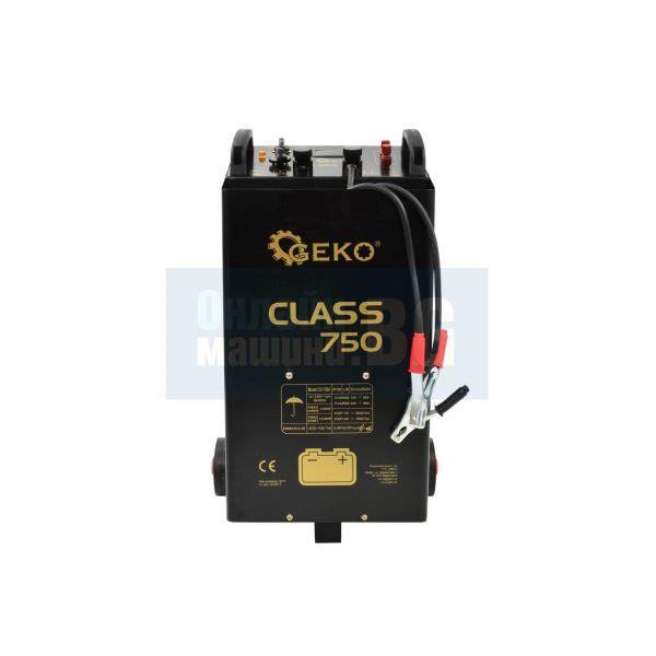 Зарядно стартерно устройство GEKO G80032 Class 750 13.8 kW, 20-1550 Ah, 60 - 90 А зареждане