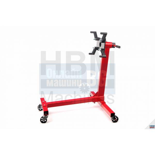 Стойка за двигатели мобилна 450 kg HBM 1646