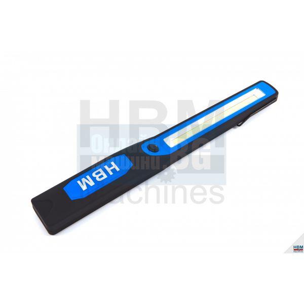 Работна лампа LED HBM 7817, 250 lumen, синя
