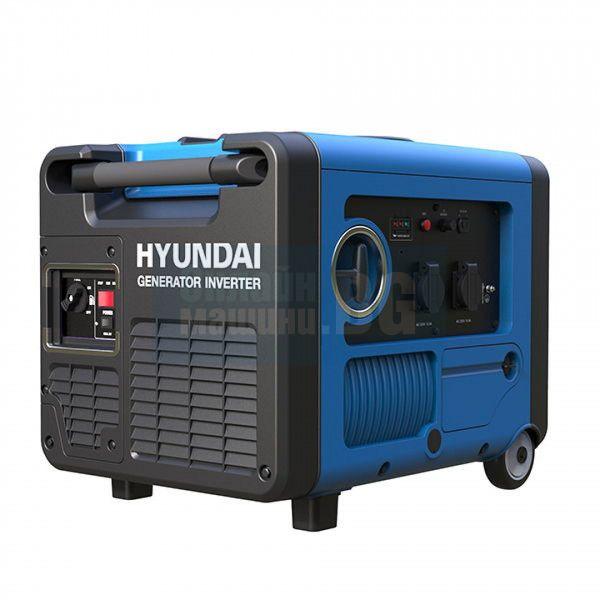 Инверторен бензинов генератор  Hyundai 55014 4000W