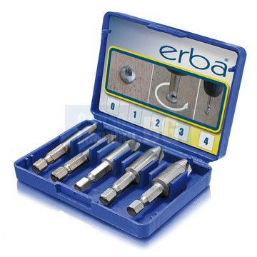 Комплект за развиване на винтове ERBA, 5 части