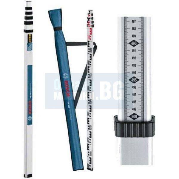 Лата Bosch GR 500 за оптични нивелири /5 метра/