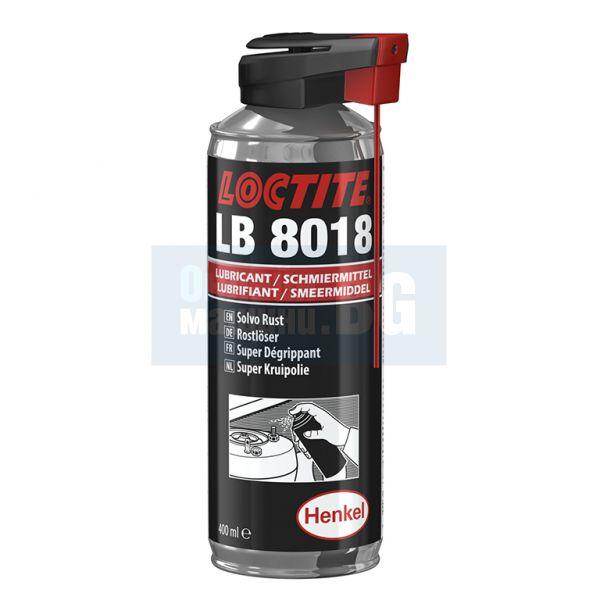 Спрей за почистване на ръжда Henkel Loctite 8018, 0.4 л