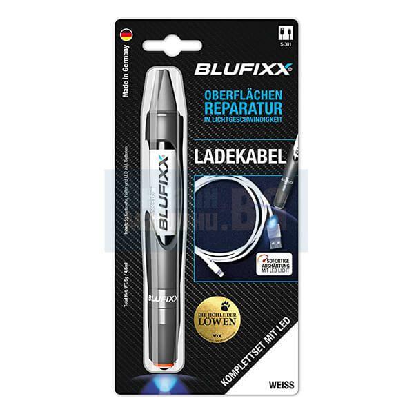 Фотополимерен специализиран ремонтен гел за кабели BLUFIXX, UV, бял, 5 г