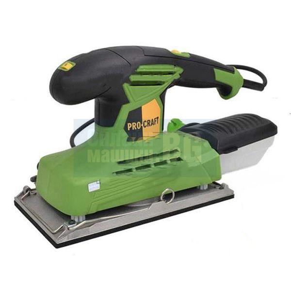 Електрически виброшлайф Procraft PV220, 220 W, 6000-12000об./мин