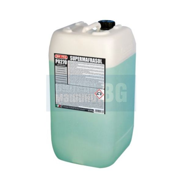 Концентриран обезмаслител за силно замърсени повърхности MA-FRA Supermafrasol, 60 кг