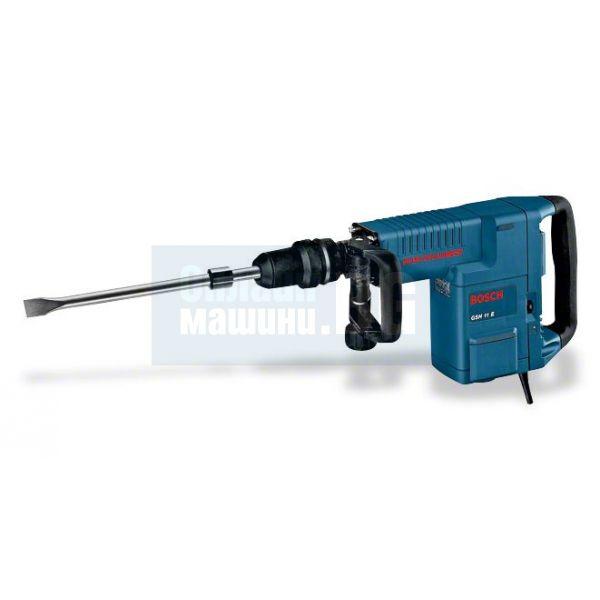 Къртач Bosch   GSH 11 E /1500 W, 16,8 J, куфар, секач